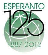 emblema del 125 aniversario del esperanto