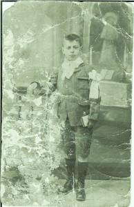 Leopoldo Picó, única foto conservada, de niño