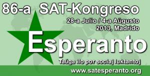 Emblema del congreso de SAT en Madrid