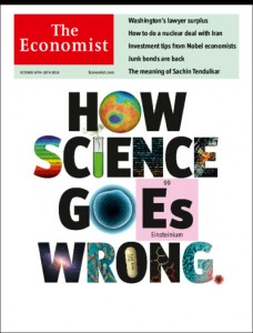 The economist, science goes wrong
