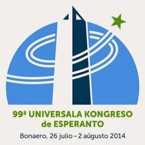 Logo Congreso Mundial de Esperanto, Buenos Aires, 2014