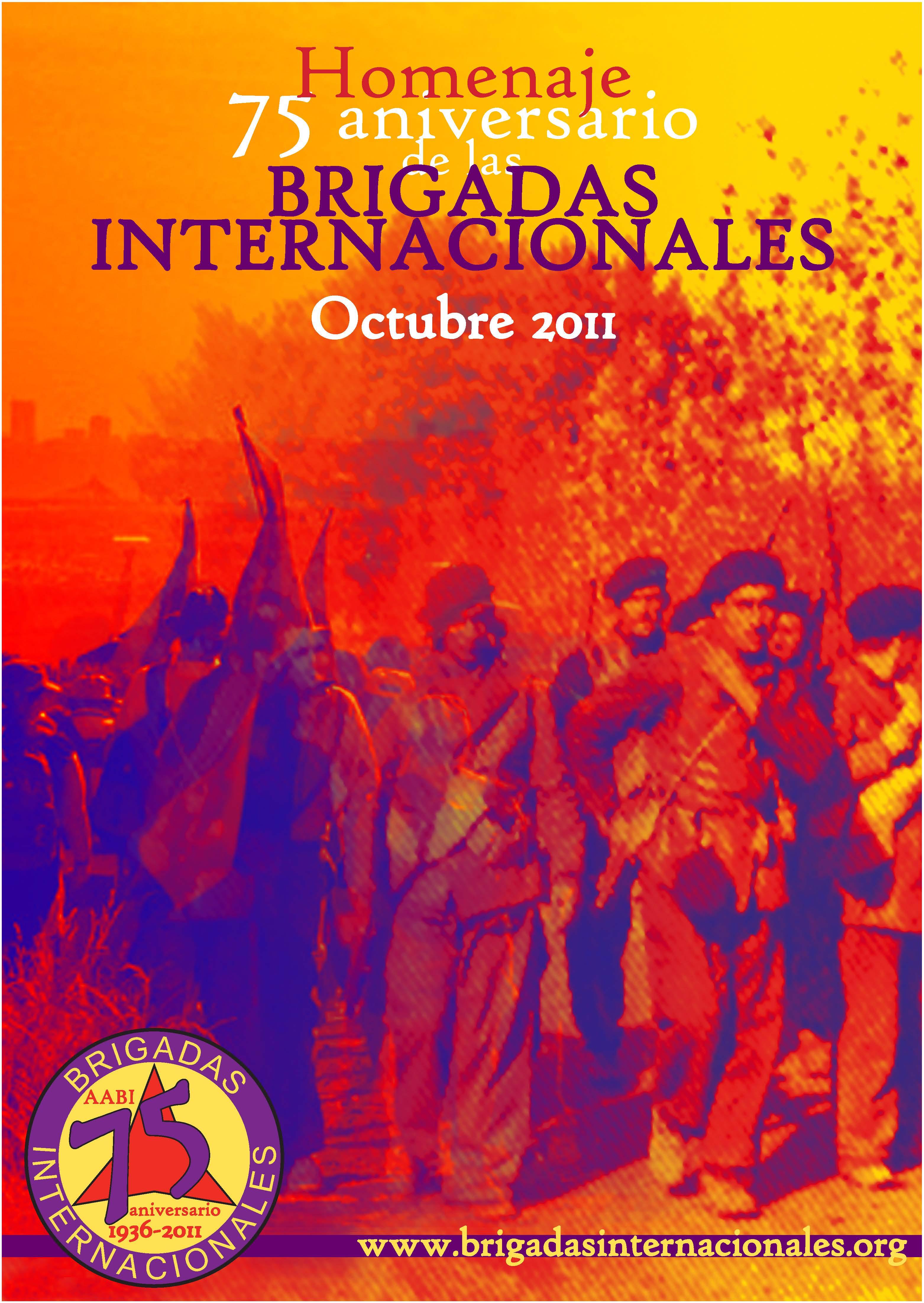 Homenaje a las brigadas internacionales
