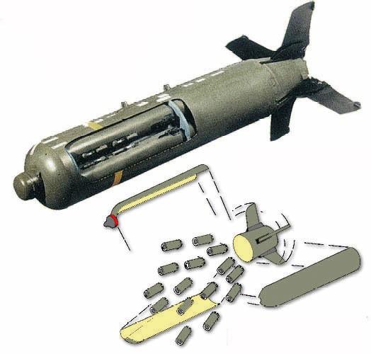 Campaña de SAT sobre las bombas de racimo