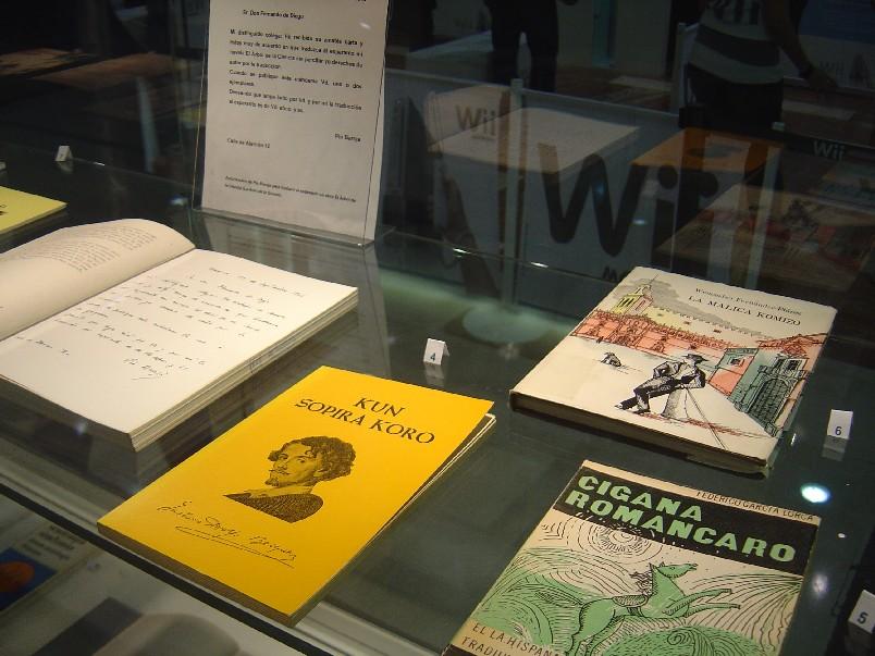 Exposición sobre el esperanto